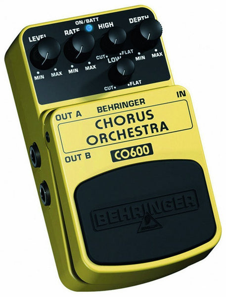 Behringer CHORUS ORCHESTRA CO600 Ultimate Stereo Chorus Effects Pedal