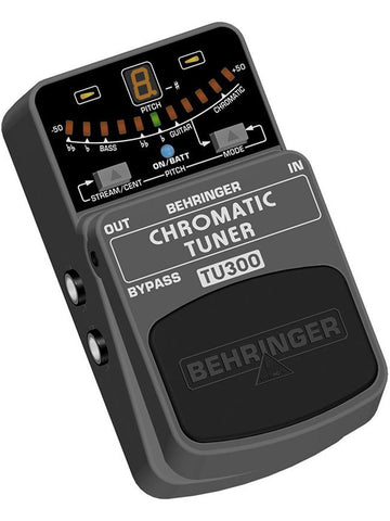 Behringer CHROMATIC TUNER TU300 Ultimate Guitar/Bass Tuner