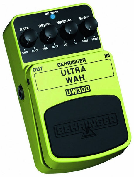 Behringer ULTRA WAH UW300 Ultimate Auto-Wah Effects Pedal