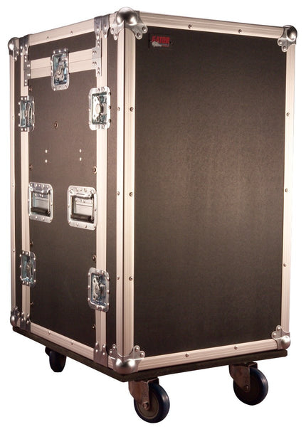 Gator 10U Top, 14U Side Audio Road Rack Case