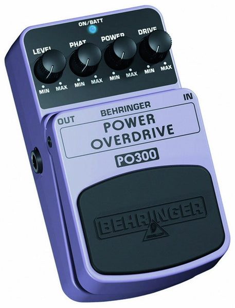 Behringer POWER OVERDRIVE PO300 Ultimate Power Overdrive Effects Pedal