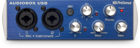 PreSonus AudioBox USB 2x2 USB Recording Interface (Refurb)