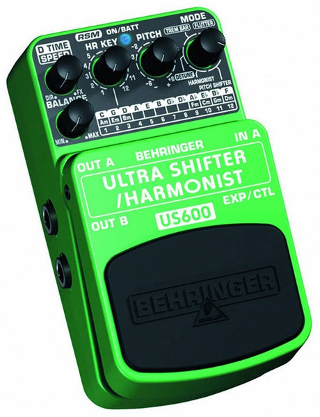 Behringer ULTRA SHIFTER/HARMONIST US600 Ultimate Pitch Shifter / Harmonist Effects Pedal