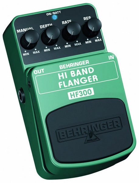 Behringer HI BAND FLANGER HF300 Ultimate High-Band Flanger Effects Pedal