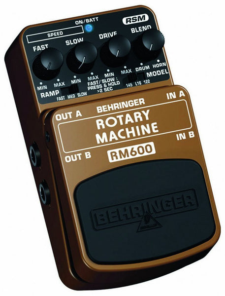 Behringer ROTARY MACHINE RM600 Ultimate Rotary Speaker Modeling Effects Pedal