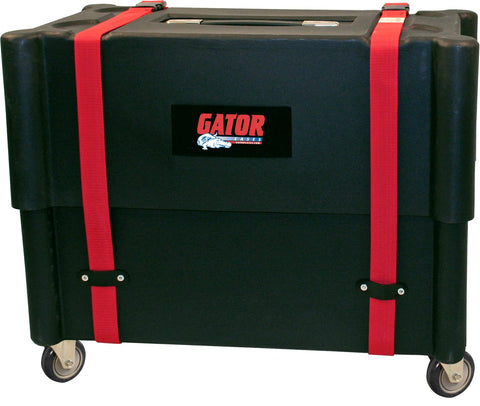 Gator 2X12 Combo Amp Transporter / Stand; Molded Plastic
