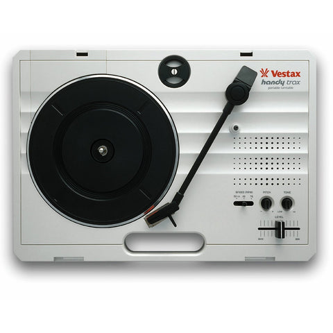 Vestax HandyTrax USB Portable USB Turntable in WHITE