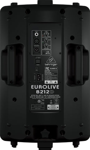 Behringer EUROLIVE B212D Active 550-Watt 2-Way PA Speaker System