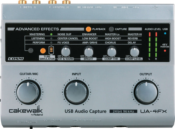 Roland UA-4FX USB Audio/MIDI Interface