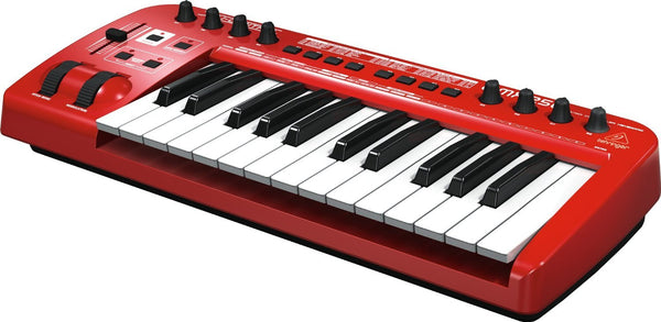 Behringer U-CONTROL UMX250 The Ultimate Studio in a Box: 25-Key USB/MIDI Controller Keyboard with Separate USB/Audio Interface