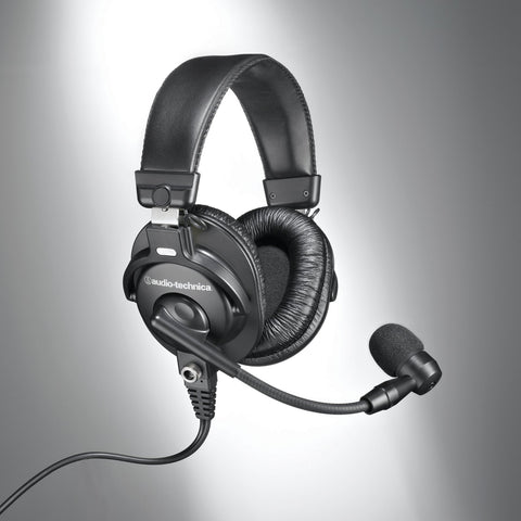 Audio-Technica BPHS1 Broadcast Stereo Headset with Dynamic Boom Mic (Refurb)