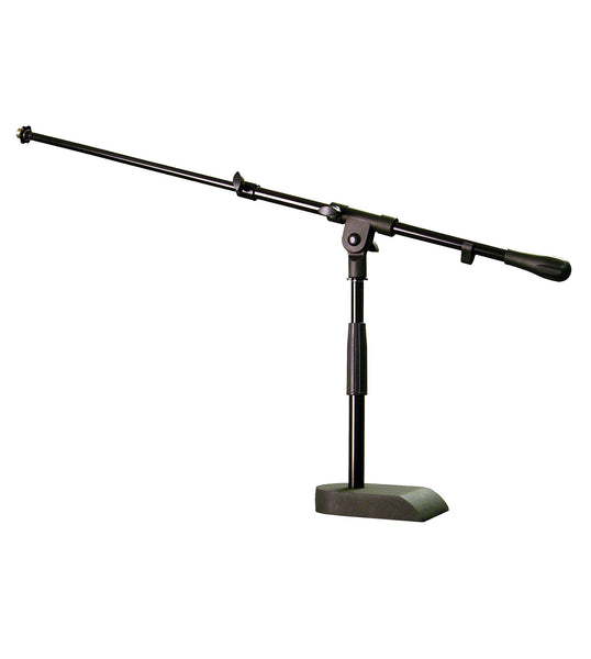 Audix Stand-kd Heavy duty pedestal base mic stand with boom arm. (Refurb)