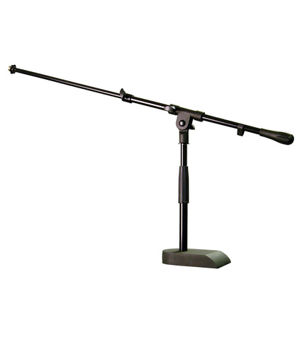 Audix Stand-kd Heavy duty pedestal base mic stand with boom arm.