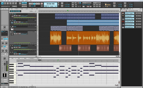 Roland SONAR-X1-E Sonar -X1 Essential Music Production Software
