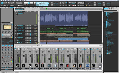 Roland SONAR-X1-S Sonar -X1 Studio Music Producation Software