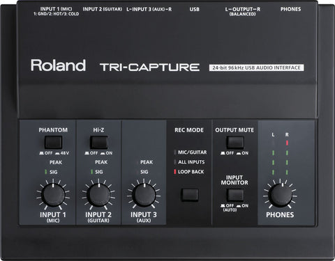 Rroland UA-33 Tri-Capture Audio Interface