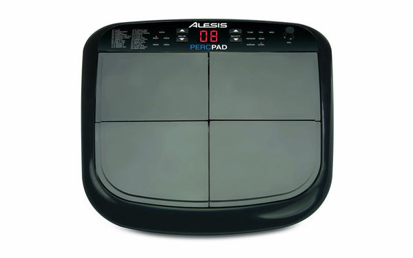 Alesis PercPad Compact, Four-Pad Percussion Instrument