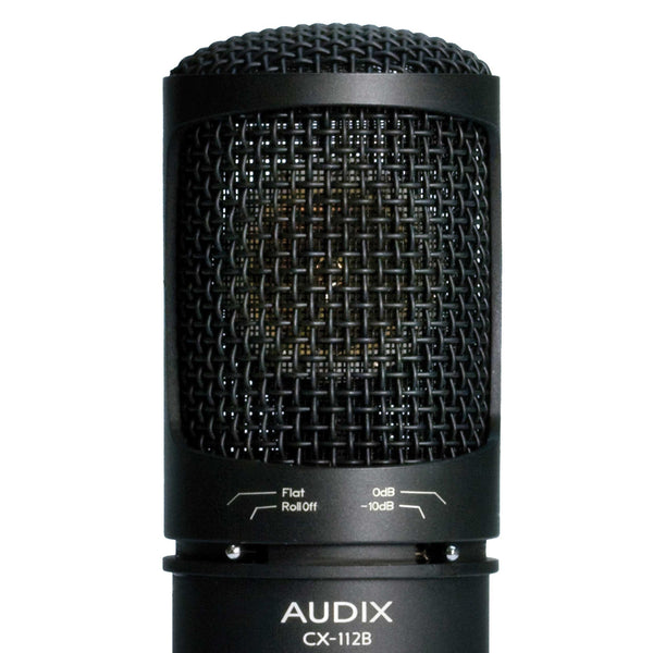 Audix CX112B Condenser Vocal | Condenser Instrument | Studio Condenser | Microphone (Refurb)