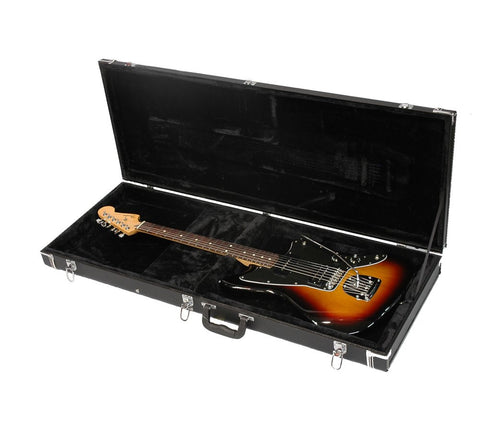 Gator Jaguar Style Guitar Deluxe Wood Case