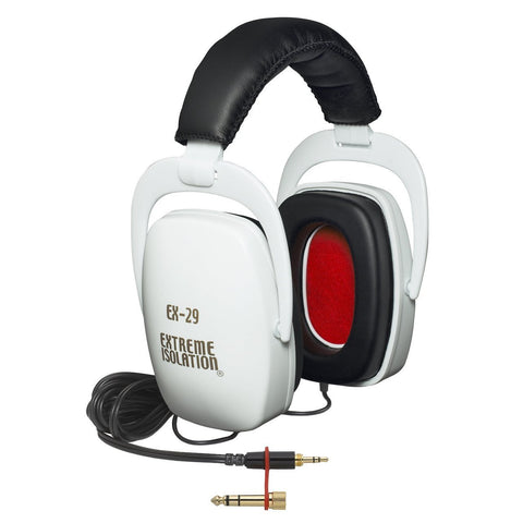 Direct Sound EX29 Extreme Isolation Headphones (White) (Refurb)