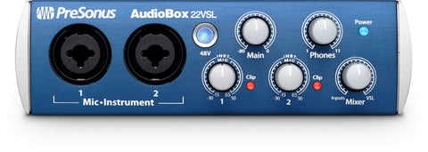 Presonus AudioBox22 VSL- Advanced 2x2 USB 2.0 Recording Interface