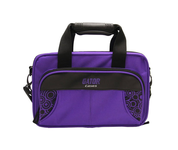 Gator Purple Lightweight Clarinet Case