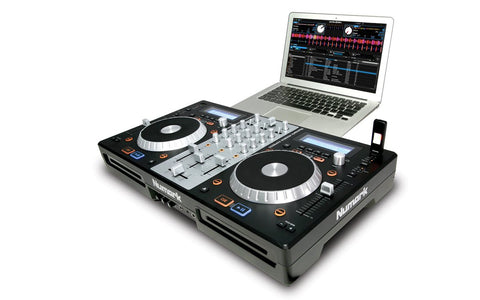 Numark MixDeck Express Premium DJ Controller with CD and USB Playback