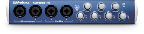 Presonus AudioBox 44 VSL- Advanced 4x4 USB 2.0 recording interface (Refurb)
