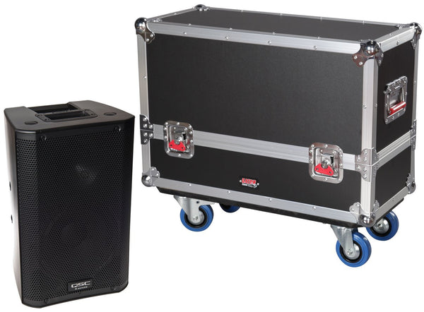 Gator Tour Style Transporter for (2) K8 speakers
