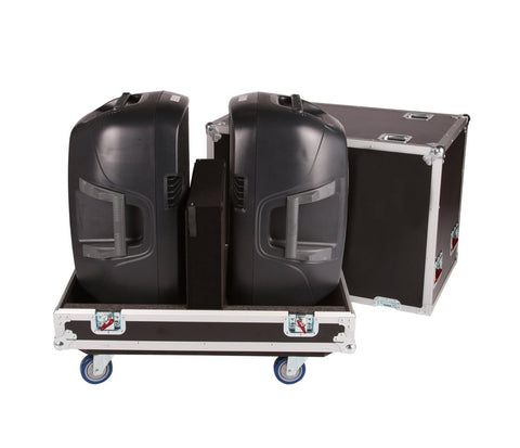 "Gator Tour Style Transporter for (2) 15"" speakers"
