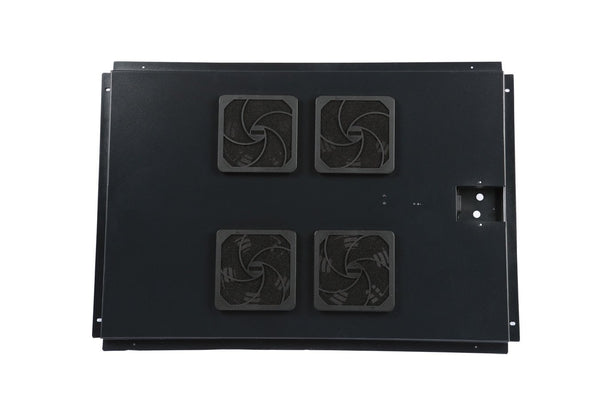 "Gator Fan Unit for 35"" Deep Floor Standing Racks; 4 Fans"