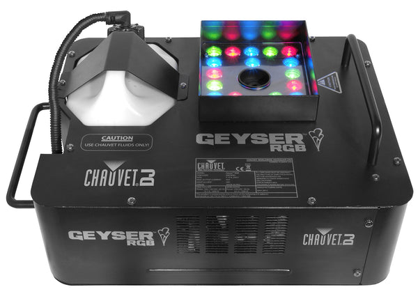 Chauvet DJ Geyser LED Smoke Machine LED Enhanced Atmospheric Effects/Fog Machines