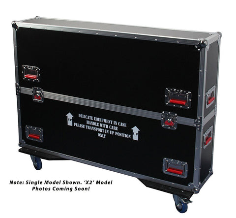 "Gator ATA LCD case for two 43-50"" screens"