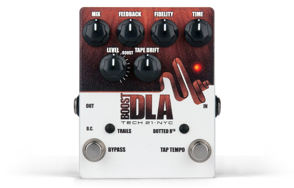 Tech 21 DLA-TT2 V2 Guitar Delay Effect Pedal (Refurb)