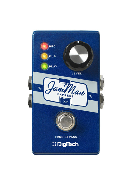 Digitech JMEXTV JamMan Express XT Compact Stereo Looper Pedal with JamSync