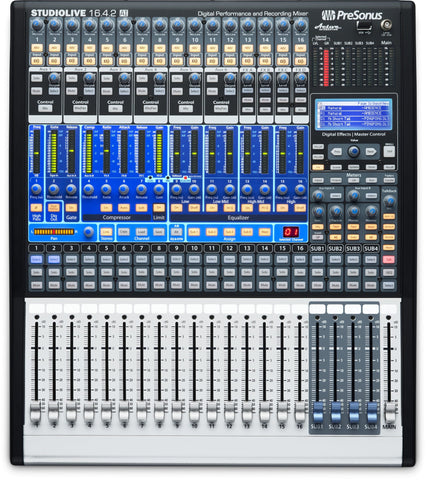 PreSonus StudioLive 16.4.2 AI 16 Channel Digital Mixer with Active Integration