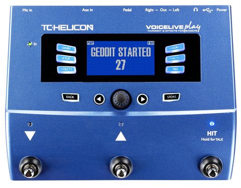 TC Helicon VoiceLive Play (Refurb)