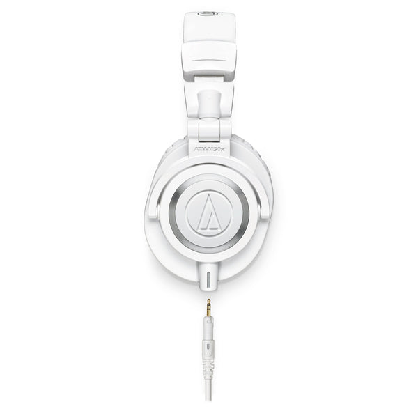 Audio-Technica ATH-M50xWH Professional Monitor Headphones (Refurb)