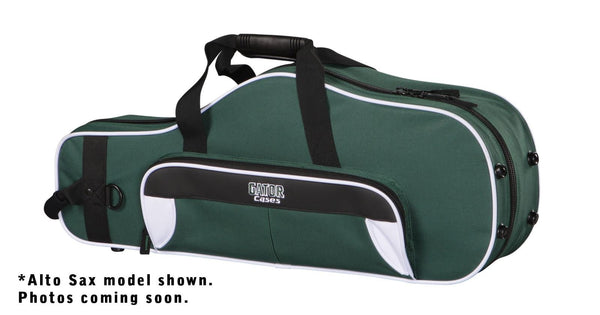 Gator GL-TRUMPET-RB Spirit Series Lightweight Trumpet Case, White& Green