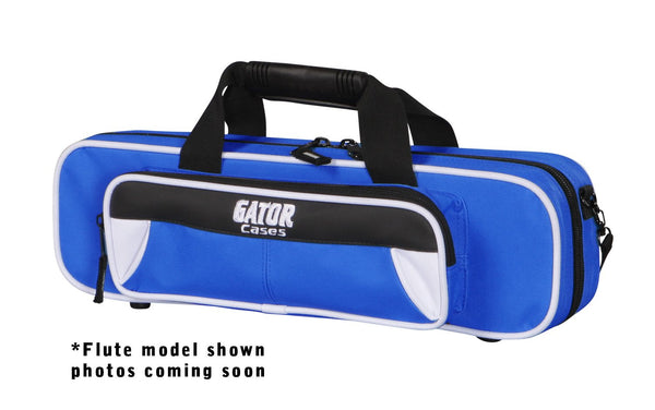 Gator GL-CLARINET-WB Spirit Series Lightweight Clarinet Case, White & Blue