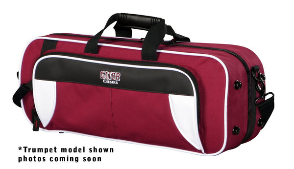 Gator GL-ALTOSAX-WM Spirit Series Lightweight Alto Sax Case, White & Maroon