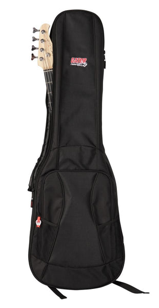 Gator 4G Style gig bag for bass guitars with adjustable backpack straps, GB-4G-BASS