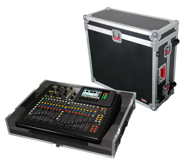 Gator G-TOUR X32CMPCTW Road case for Behringer X-32 Compact Mixer