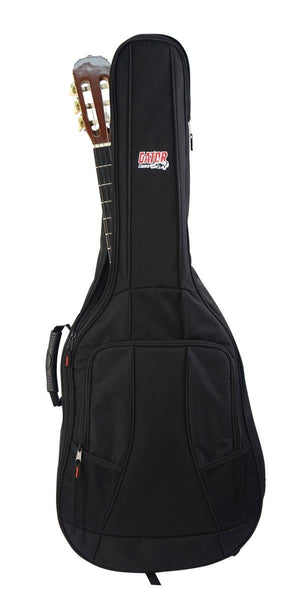 Gator 4G Style gig bag for classical guitars with adjustable backpack straps, GB-4G-CLASSIC (Refurb)