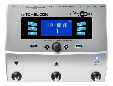 TC Helicon Play Electric Vocal Effects Processor