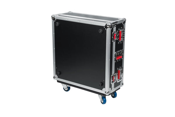 Gator G-TOURQU24 ATA Wood Flight Case for Allen & Heath QU24 Mixing Console with Doghouse Design