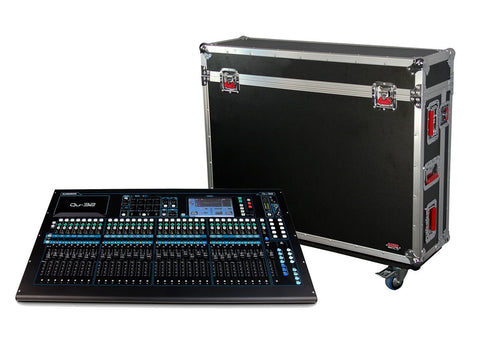 Gator G-TOURQU32 ATA Wood Flight Case for Allen & Heath QU32 Mixing Console with Doghouse Design