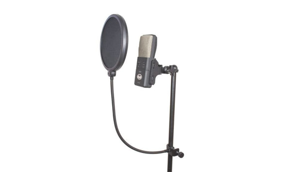 "CAD VoxPop Double-layer Acoustic 6"" vox-pop filter on 14"" gooseneck"
