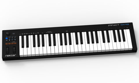 Nektar Impact GX49 49 note USB MIDI keyboard controller with Nektar DAW integration