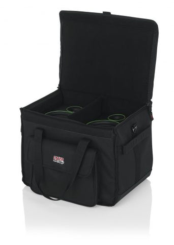 Gator Cases G-STUDIOMON1 Studio Monitor Tote Bag Holds (2) Powered Monitors Up to 5